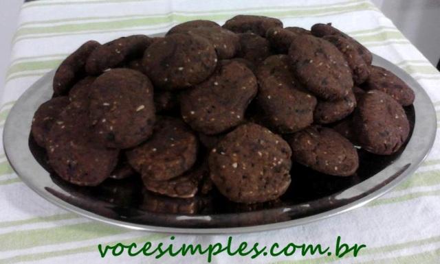 Biscoitos de Alfarroba