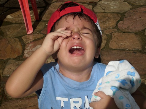 BB chorando